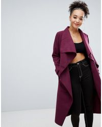 Missguided - Oversized Duster Coat - Lyst