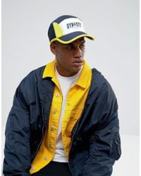 Cayler & Sons - Baseball Cap In Blue With Dynasty Print - Lyst