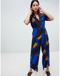 Weekday - Printed Jumpsuit - Lyst