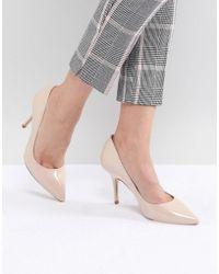 Karen Millen - Patent Pointed Court Shoes - Lyst