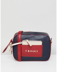 Tommy Hilfiger | Iconic Camera Bag In Leather | Lyst