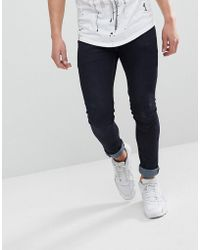 Religion - Skinny Fit Jeans In Dark Wash - Lyst