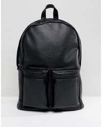 French Connection - Backpack In Black - Lyst