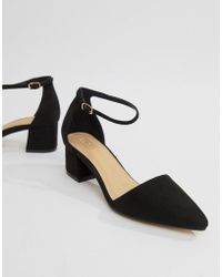 e1b9060b350c Truffle Collection - Pointed Mid Heels - Lyst
