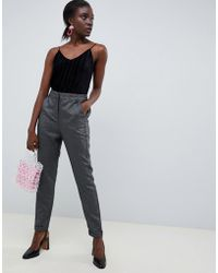Vero Moda - Glitter Tailored Trouser - Lyst
