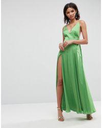 ASOS | Cami Thigh Split Maxi Dress | Lyst