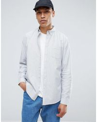 Common People - Oxford Stripe Shirt - Lyst