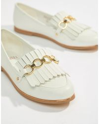 Faith - Fringe Chain Loafer - Lyst