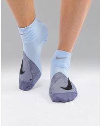 Nike - Elite Lightweight Socks In Blue - Lyst