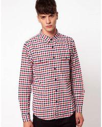 Izzue - Gingham Shirt - Lyst
