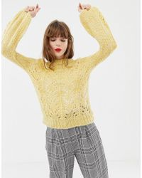 Soaked In Luxury - Cable Knit Jumper - Lyst
