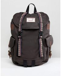 Doughnut - Macaroon Woodland Bo-he Backpack In Charcoal - Lyst