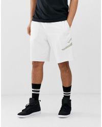 b20c99ac8229fa Nike Nike Flight Shorts In Black 861496-014 in White for Men - Lyst