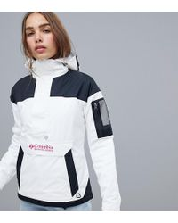 Columbia - Challenger Pullover In White - Lyst