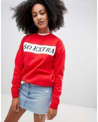 Adolescent Clothing - So Extra Sweatshirt - Lyst