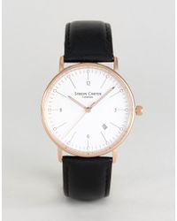 Simon Carter - Wt2201 Leather Watch In Brown - Lyst