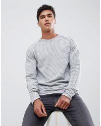 Jack & Jones - Jack And Jones Lightweight Knitted Sweater - Lyst