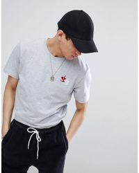Gio Goi - Muscle T-shirt With Embroidery - Lyst