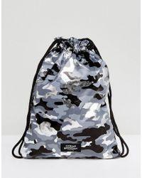 Cheap Monday - Camo Print Drawstring Bag - Lyst