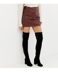 29183dbcd4b ASOS - Wide Fit Kadi Heeled Thigh High Boots - Lyst