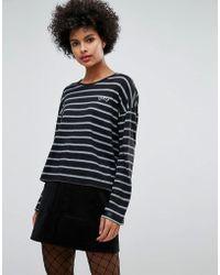 Sonia by Sonia Rykiel - Spray Stripe Long Long Sleeve T-shirt - Lyst