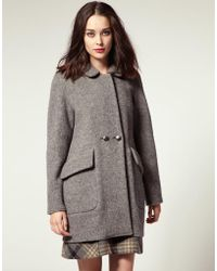 NW3 by Hobbs - By Hobbs Downshirehill Boiled Wool Coat - Lyst