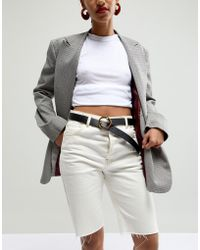 ASOS - Jeans Belt With Snake Buckle - Lyst