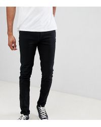 Farah - Drake Slim Fit Jean In Black - Lyst