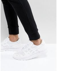 Asics - Gel-lyte Ns Trainers In White H8d4n-0101 - Lyst