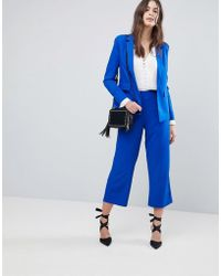 Fashion Union - Wide Leg Tailored Trousers Co-ord - Lyst