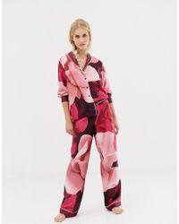Ted Baker - B By Porcelain Rose Printed Pyjama Bottom - Lyst