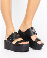 Pull&Bear - Ring Detail Wedges - Lyst