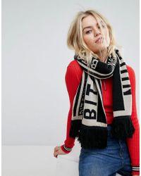 Skinnydip London - Bitchin Knitted Football Scarf - Lyst