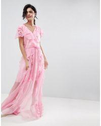 2nd Day - 2ndday Ruffle Maxi Dress - Lyst