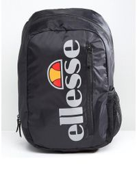 Ellesse | Zolli Backpack With Reflective Logo In Black | Lyst