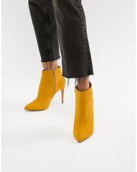 New Look - Pointed Heeled Boot - Lyst