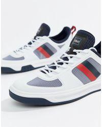 Polo Ralph Lauren - Court 200 Stripe Trainers - Lyst