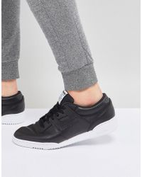 Reebok - Workout Lo Clean Id Trainers In Black Bs9830 - Lyst