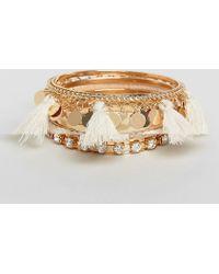 ALDO | Multipack Tassel Bracelets | Lyst
