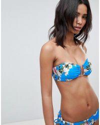 6dca71e8b416bf Ted Baker - Botanical U Bar Underwire Bikini Top - Lyst