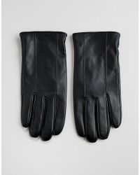 Barneys Originals - Gants en cuir - Lyst