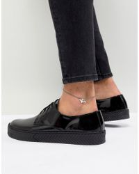 ASOS - Design Anklet With Origami Cheetah - Lyst