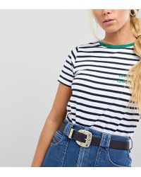 Retro Luxe London - Leather Belt With Celestial Buckle - Lyst