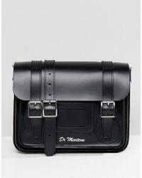 Dr. Martens - 11 Leather Satchel In Black - Lyst