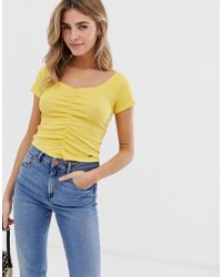 Hollister Ruched Top