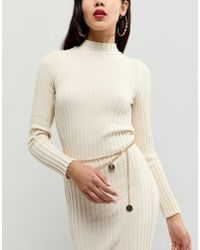 Missguided - Coin Drop Belt In Gold - Lyst