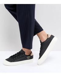 adidas originals gazelle primeknit trainers in black bz0003