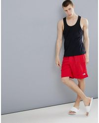 The North Face - Class V Water Swim Shorts In Red - Lyst