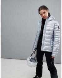 Napapijri - Aerons Eco Jacket In Silver - Lyst