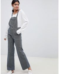 Suncoo - Striped Dungarees - Lyst